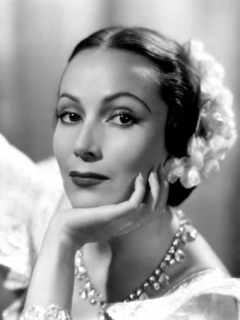Actress Dolores del Rio, Hollywood star in the 1920s and 1930s and prominent figure of the Golden Age of Mexican cinema in the 1940s and 1950s Dolores del Rio.jpg
