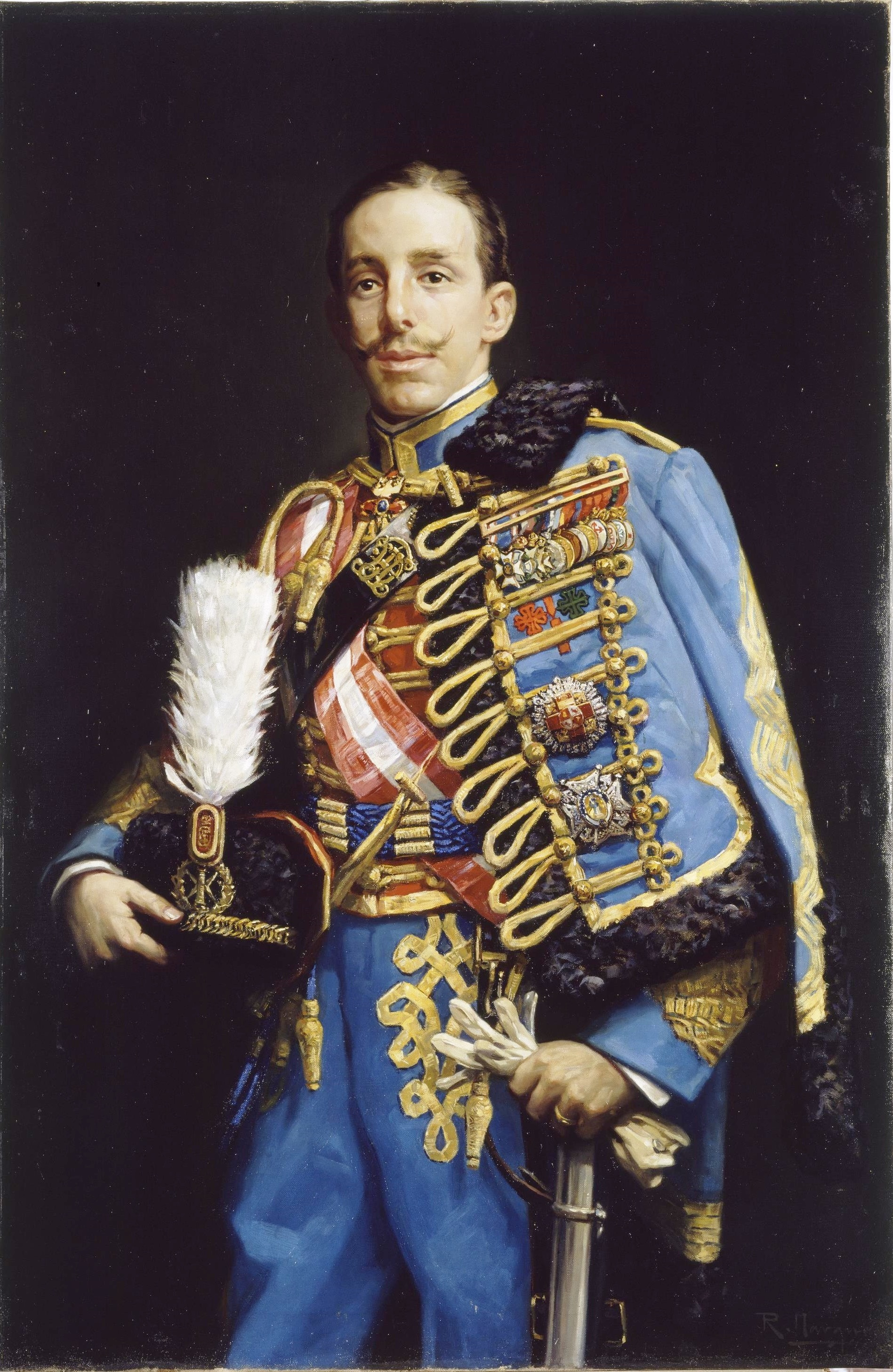 File:El rey Alfonso XIII de España, de Román Navarro (Museo del Prado).jpg - Wikimedia Commons