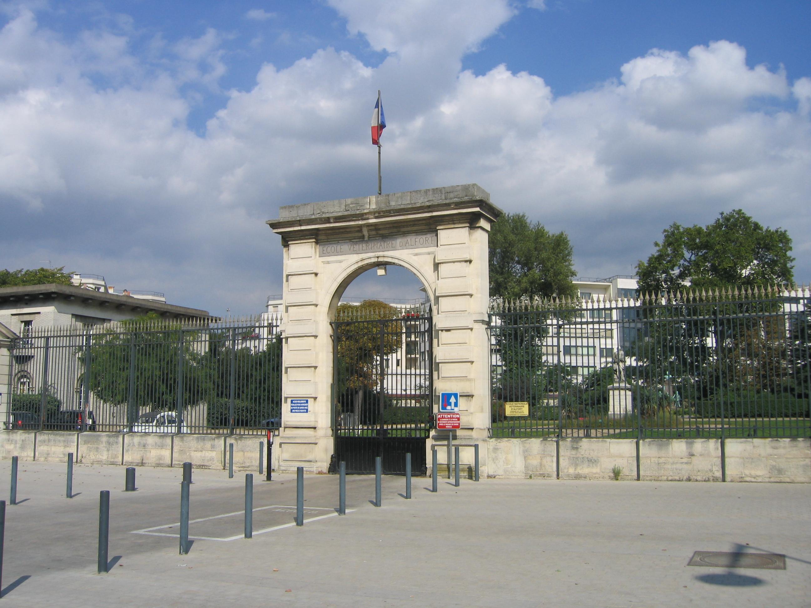 Maisons-Alfort France  City pictures : ... Entrée école vétérinaire Maisons Alfort France — Wikipédia