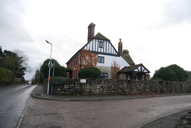 File:Entrance to Ledian Farm - geograph.org.uk - 1613893.jpg