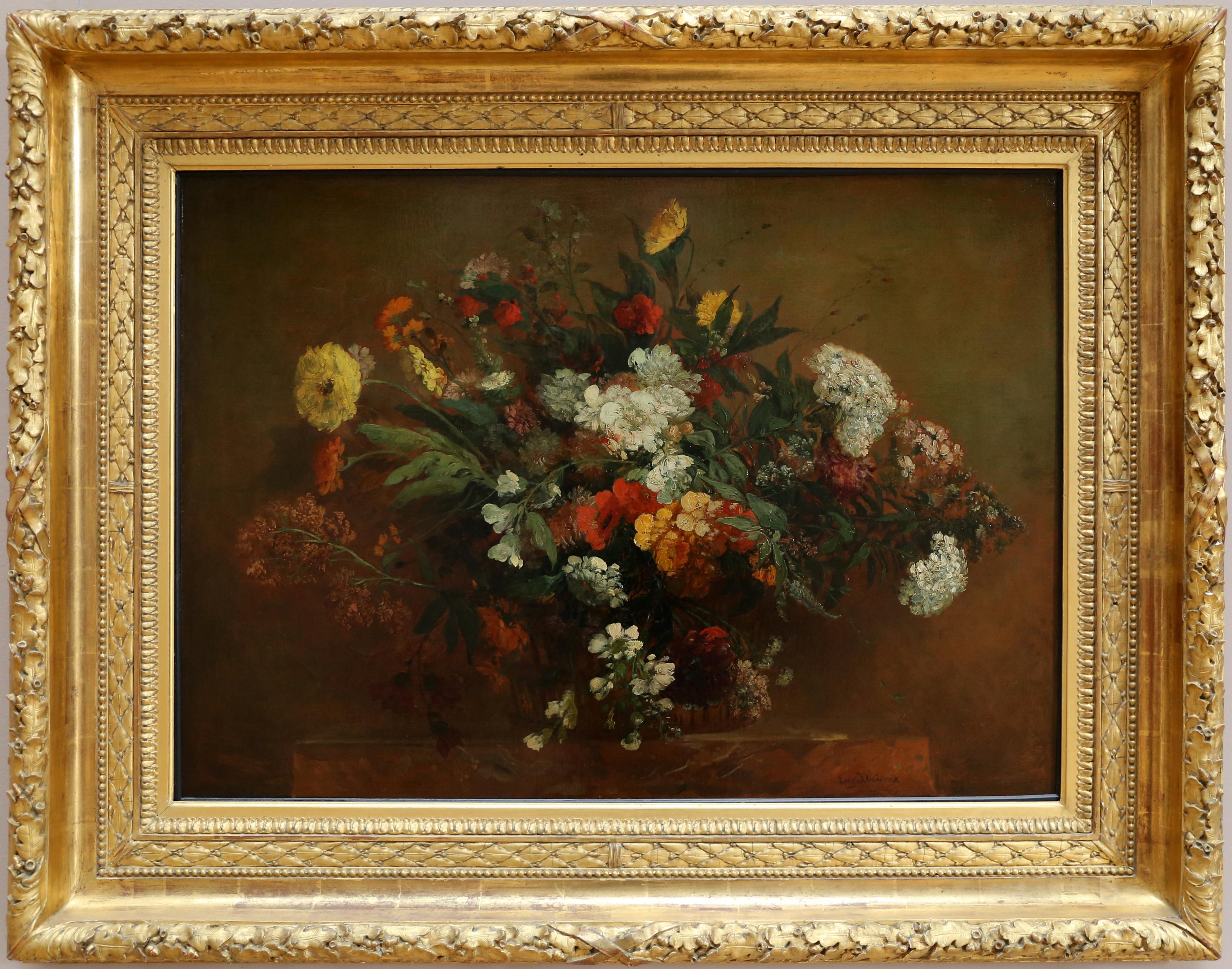 Mazzo Di Fiori Happy Birthday.File Eugene Delacroix Bouquet Di Fiori Di Campo 1850 Ca Jpg