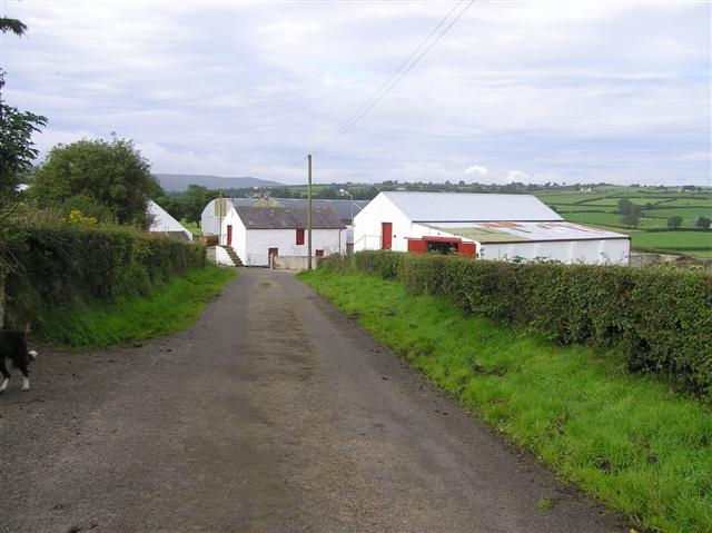 File:Farm buildings, Magheracreggan - geograph.org.uk - 1460520.jpg