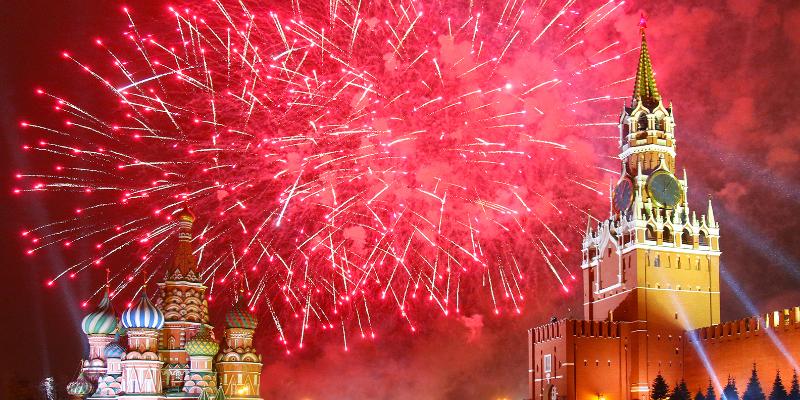 Как Москва отметила свое 850-летие 23