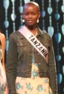 Flaviana Matata Tanzanian beauty queen and fashion model (born 1987)