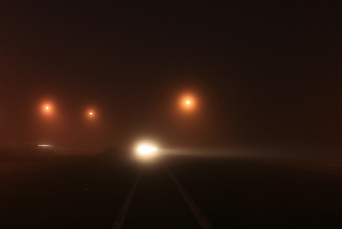 foggy night Definition of foggy in english: foggy adjective 1 full of or characterized by fog 'a dark and foggy night  'my plans for the night were still a bit foggy.