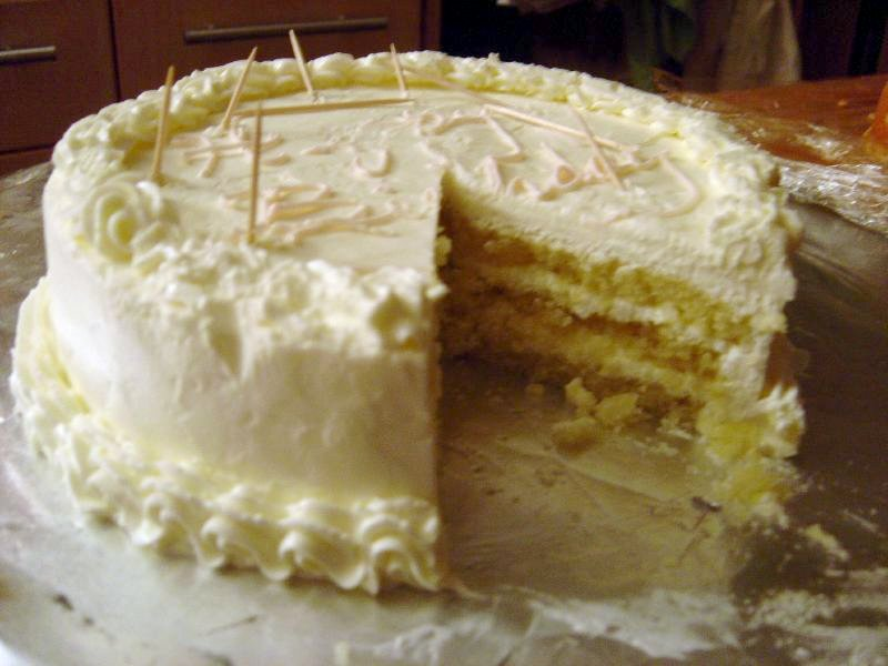 European Butter Cream Cake Recipes