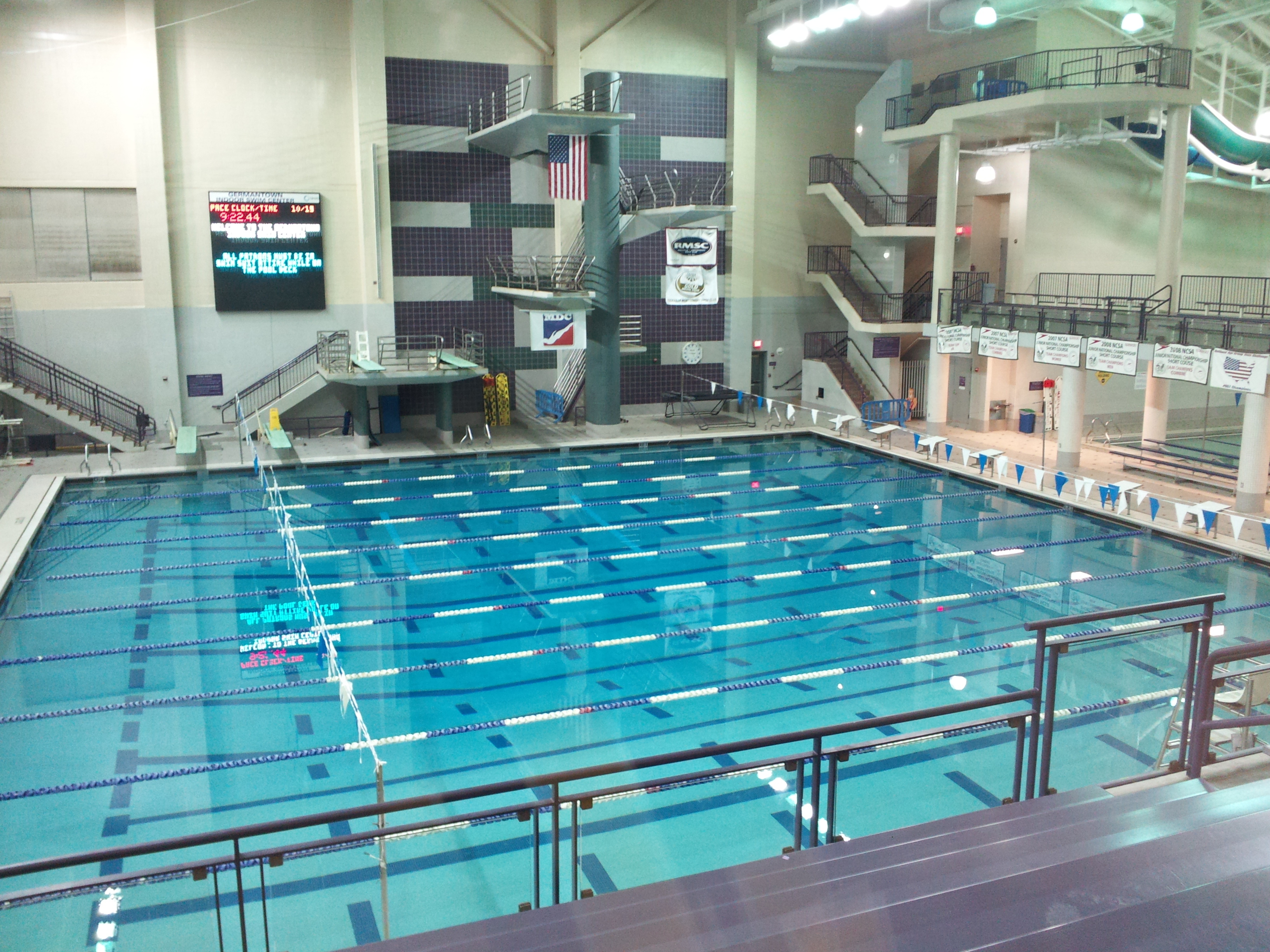 Awesome Build Indoor Pool 4 Germantown Indoor Swim Center