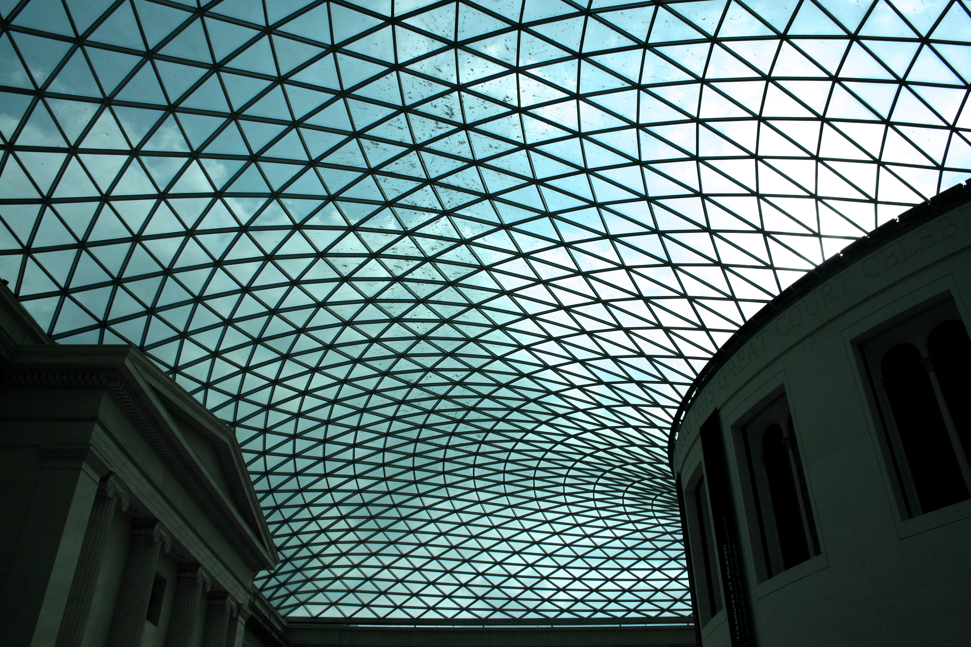 File Glass And Steel Roof Of The Great Court British