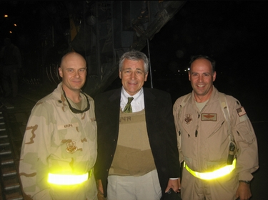 Hagel in iraq
