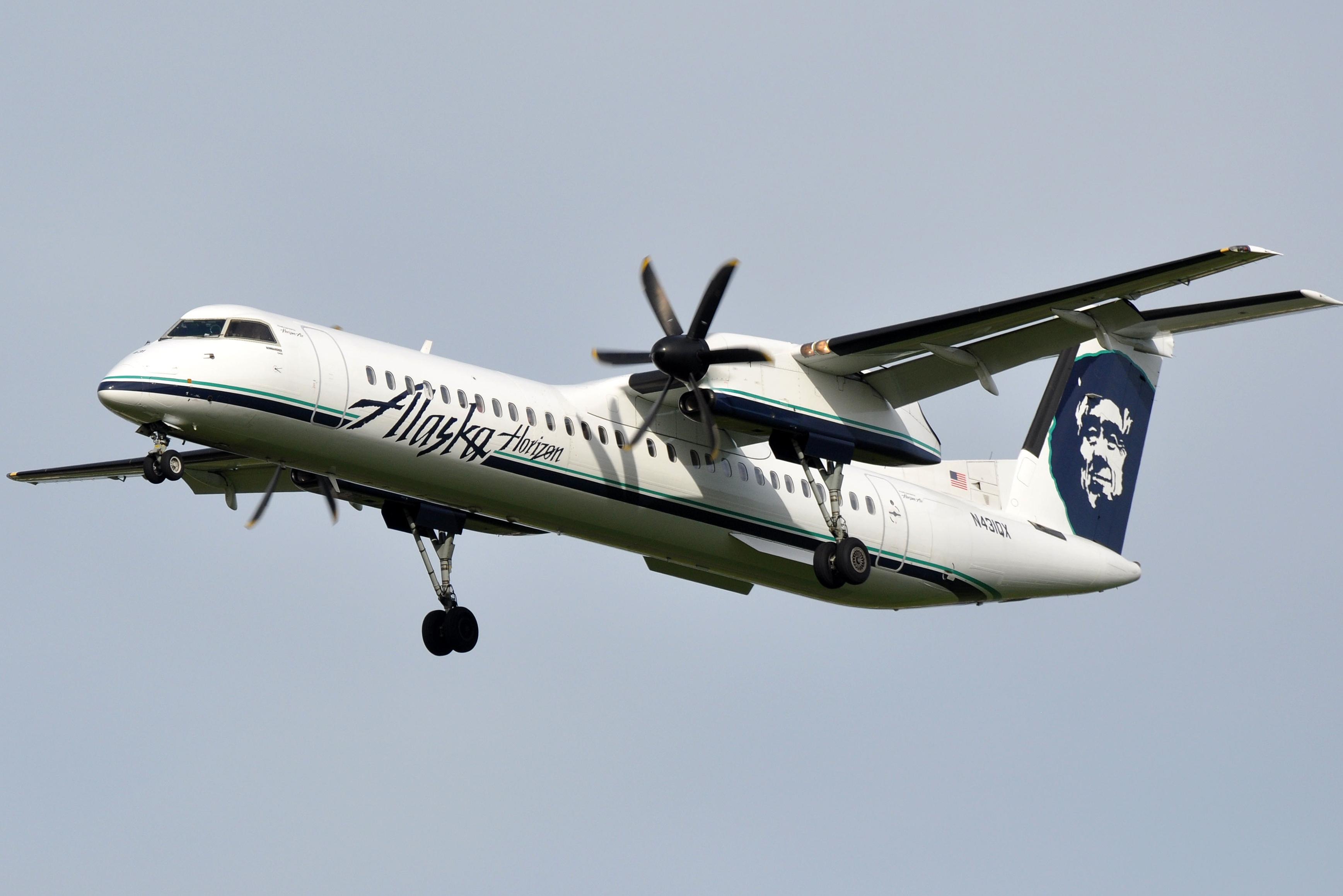 File Horizon Air Dash 8 Q400 N431qx Pdx 19446811089