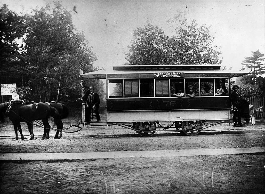 File Horse Drawn Streetcar Toronto 1880s Jpg Wikimedia Commons