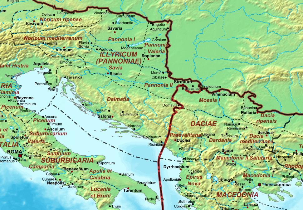Illyricum v pozdní antice
