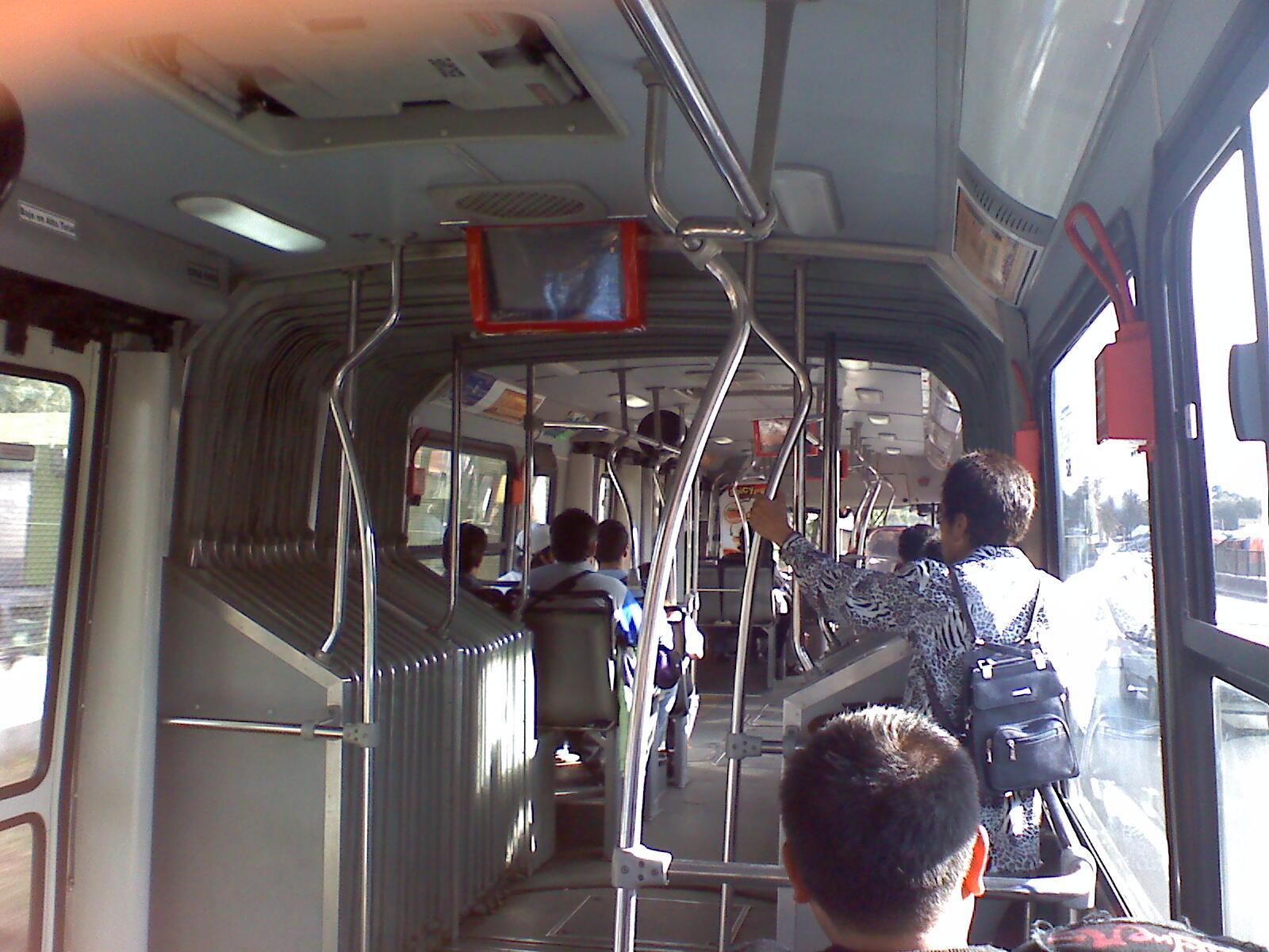 Los Angeles Metro Bus Interior Images