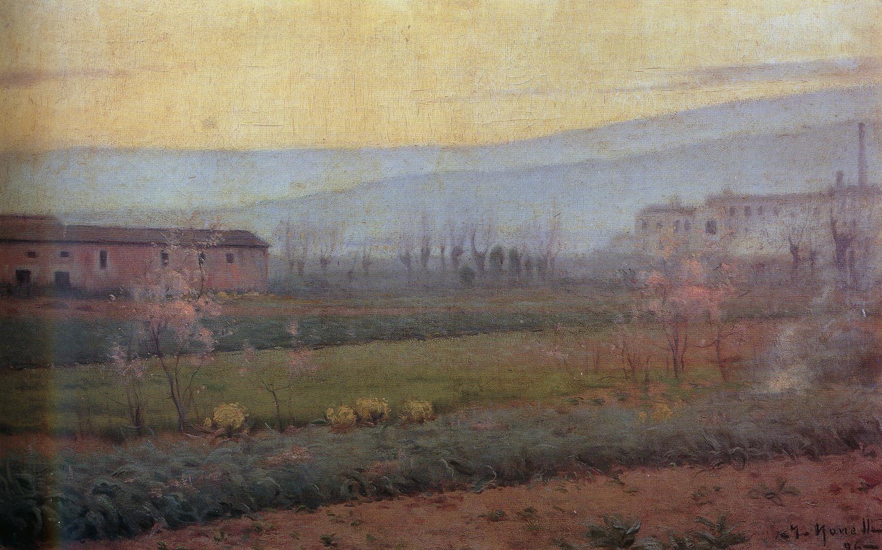 Capvespre a Sant Martí de Provençals - 1896