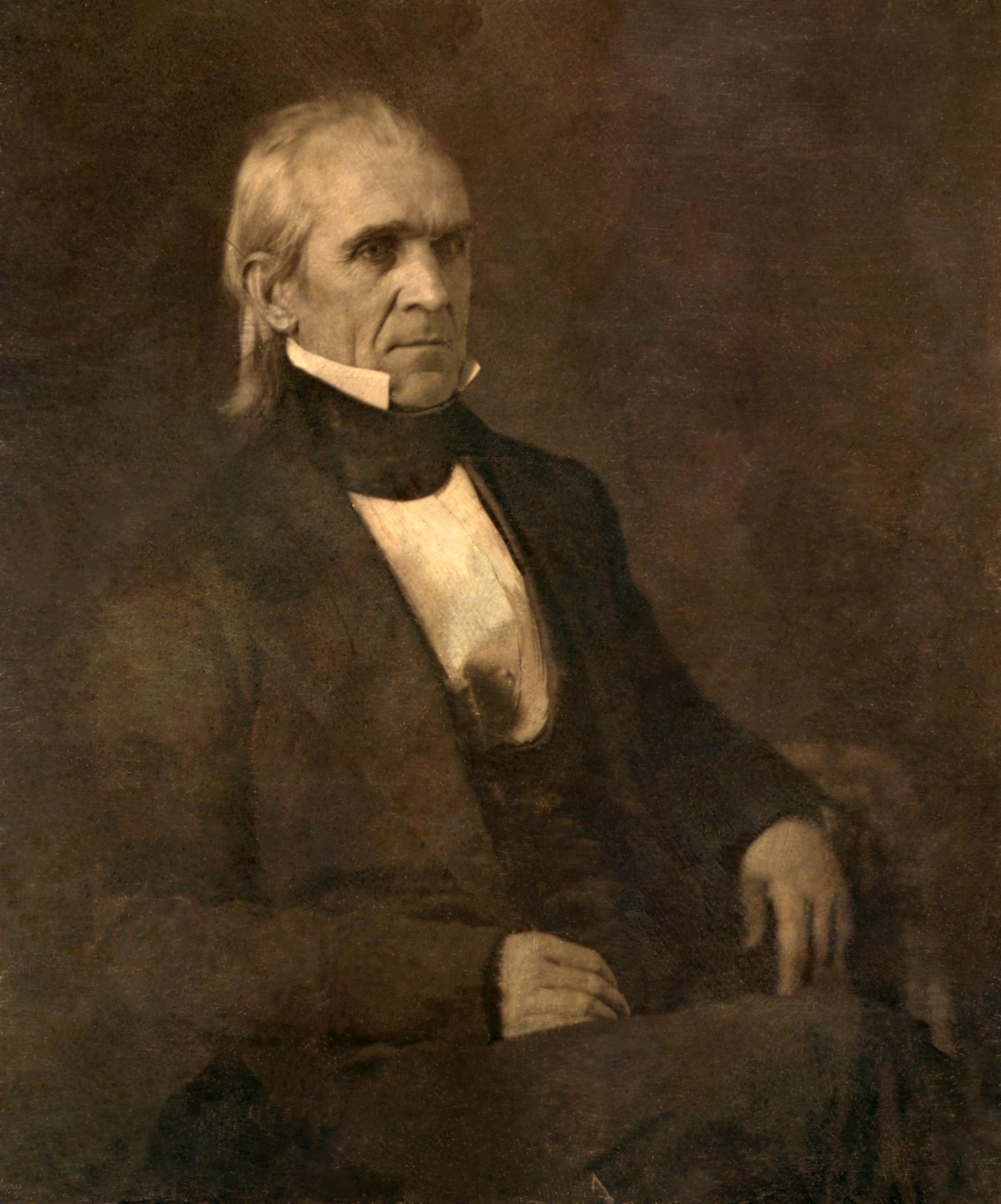 Depiction of James K. Polk