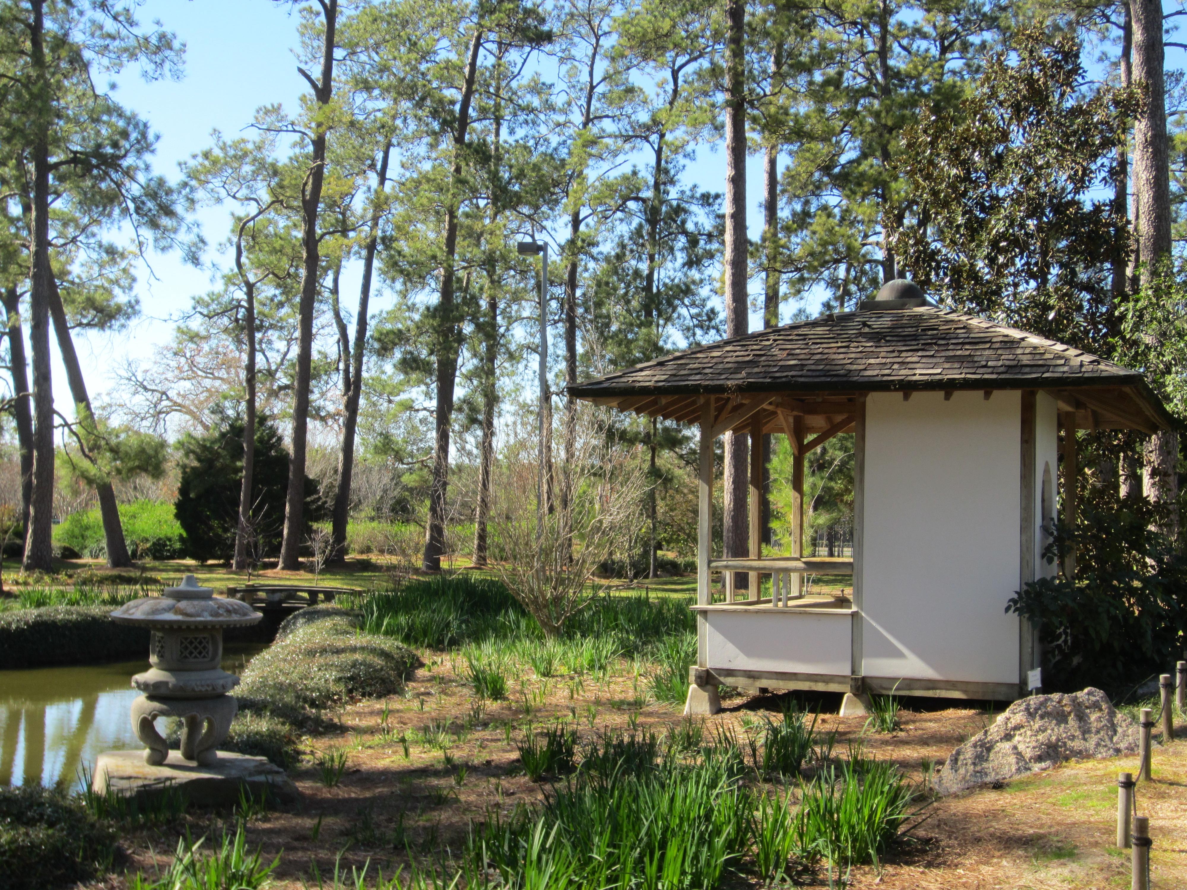 File Japanese Garden In Hermann Park Houston Jpg