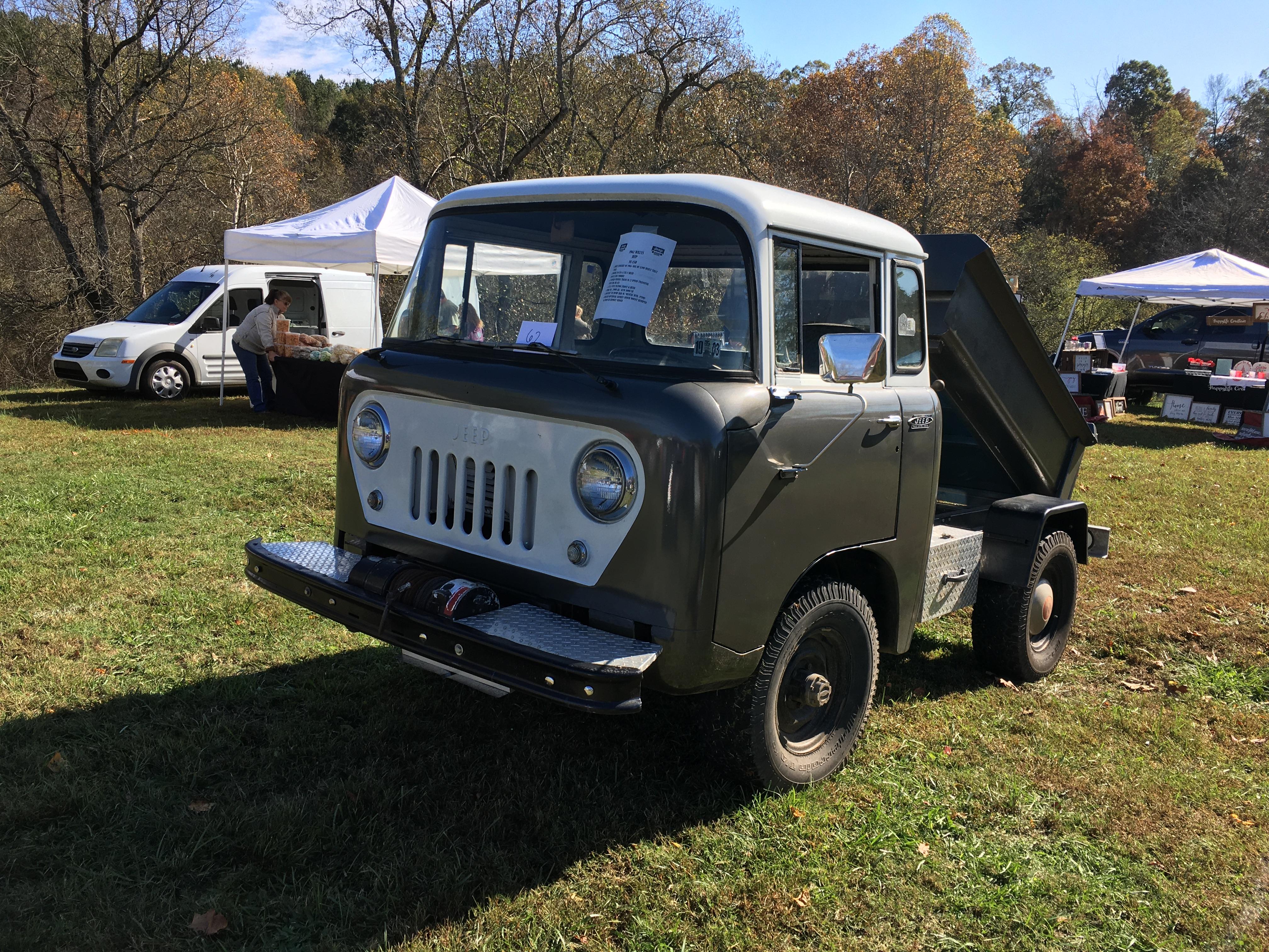 Jeep Forward Control Van