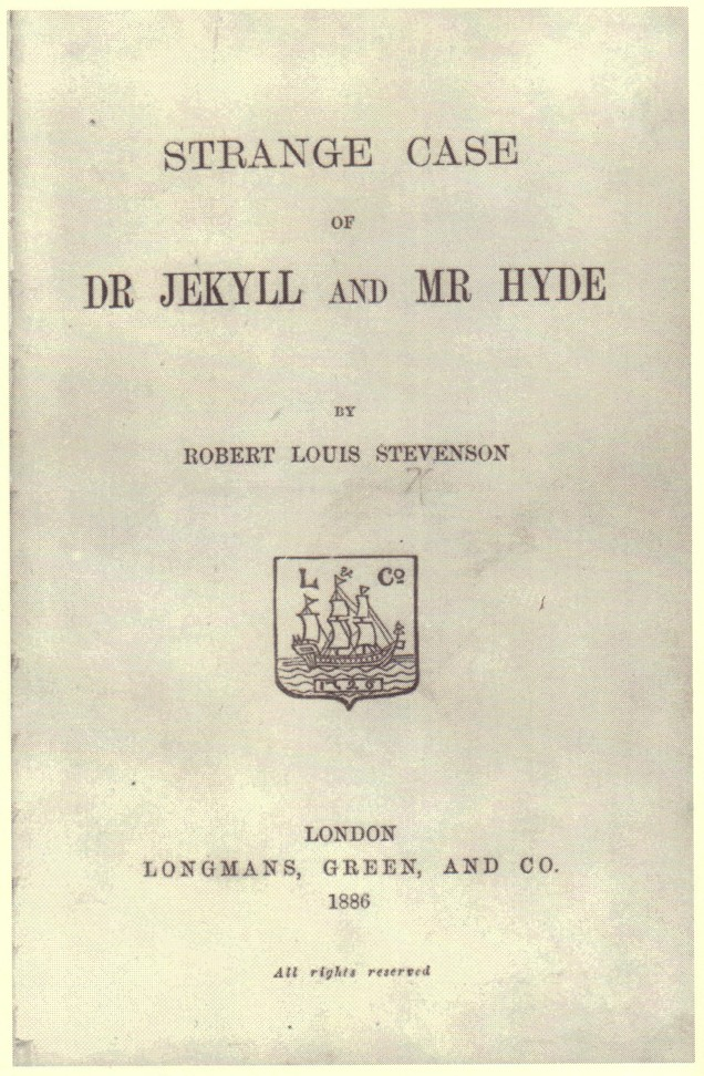 Picture of a book: Dr. Jekyll And Mr. Hyde