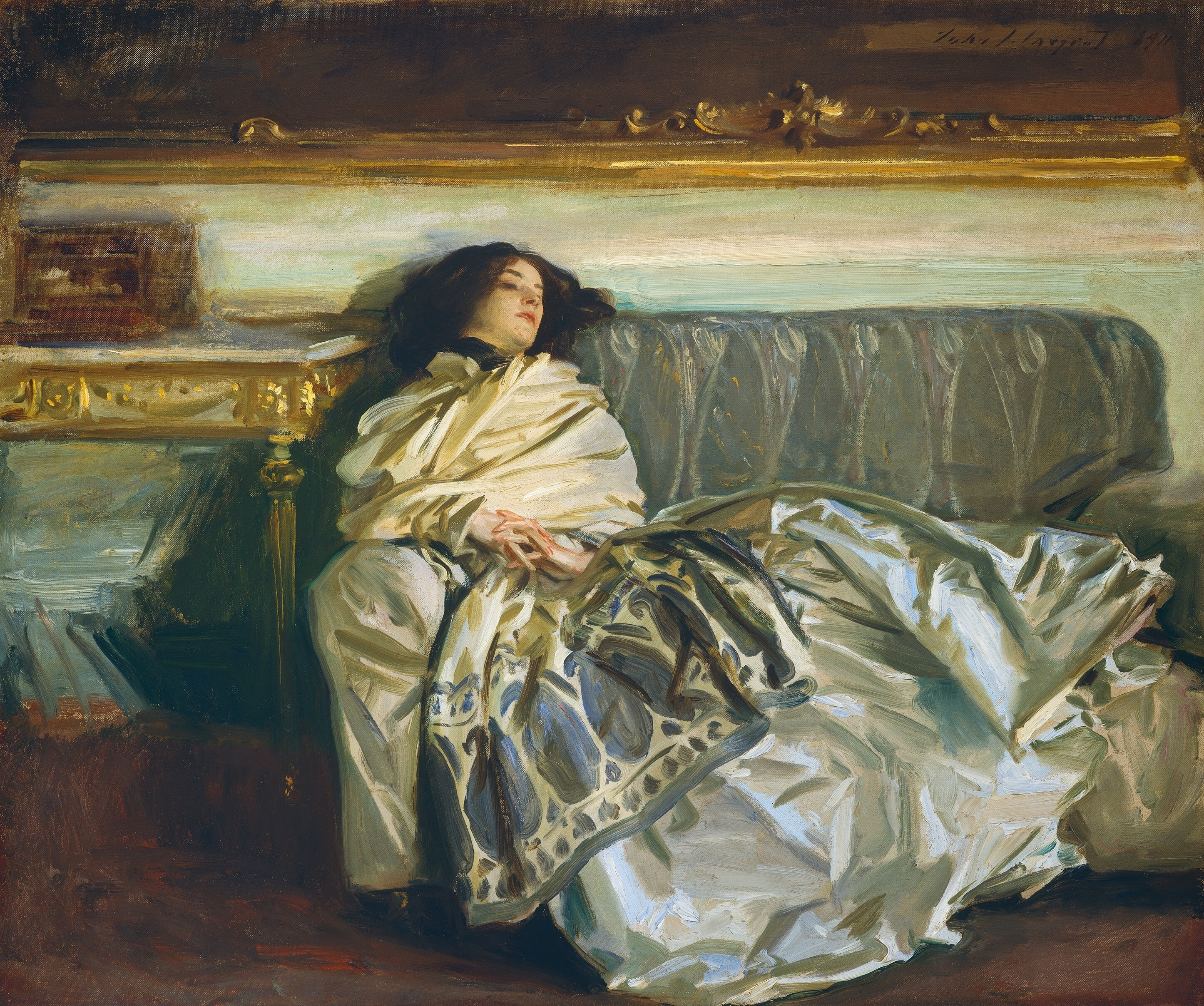 Image result for John Singer Sargent, Repose, 1911