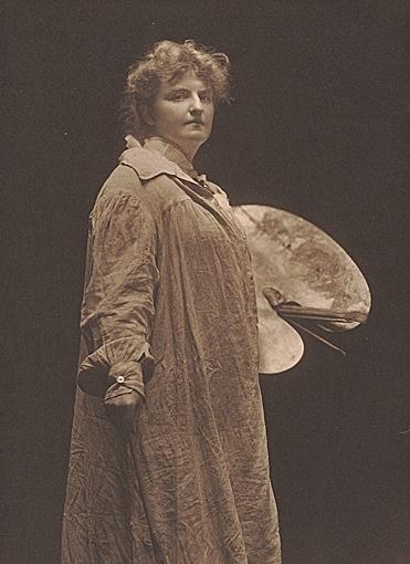 Photograph of Katherine Sophie Dreier, 1910