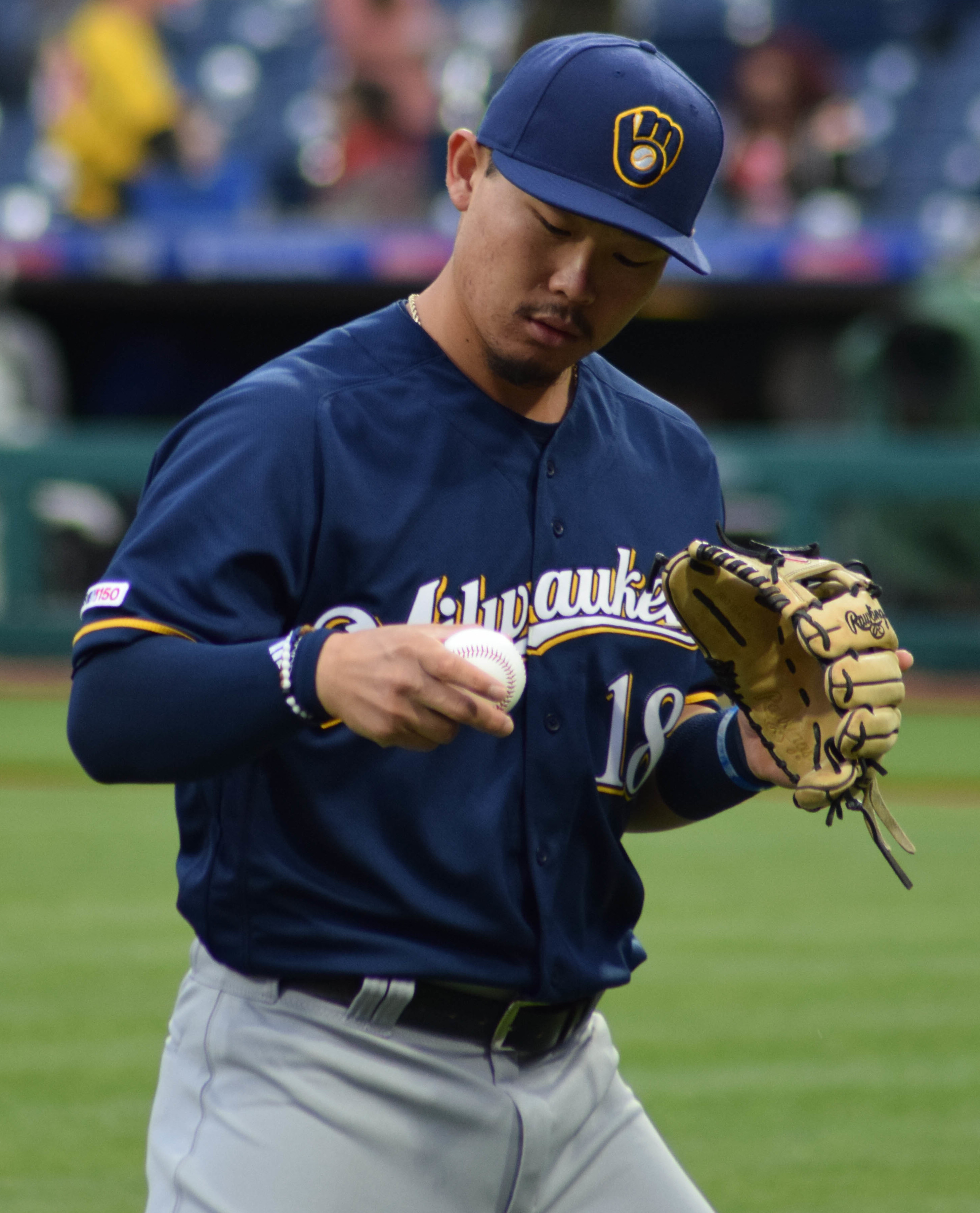 September 17, 2019 -- The Brewers defeated the Padres at home, 3 to 1. The Brewers top hitter was Keston Hiura and starting pitcher was Brandon Woodruff.