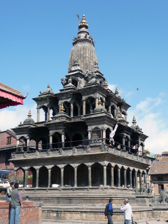 Patan Nepal  city photos gallery : Krishna temple at Patan , Nepal Wikimedia Commons
