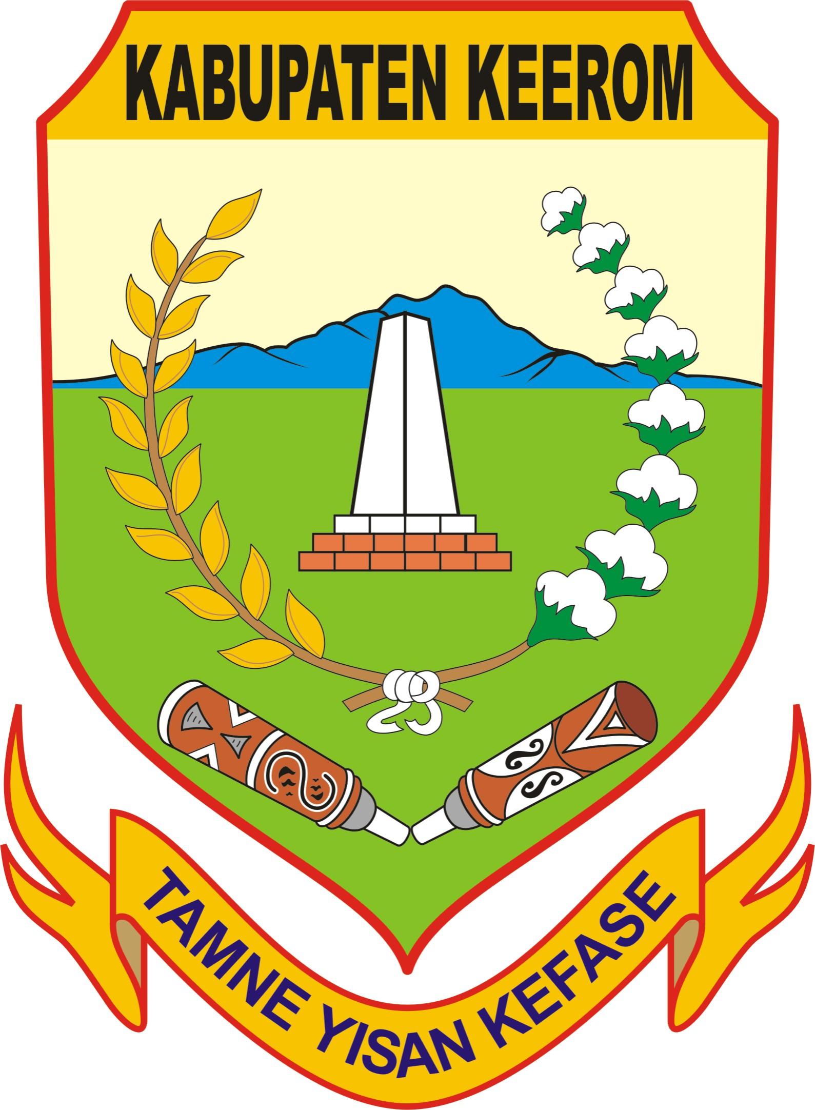 logo / lambang kabupaten Keerom