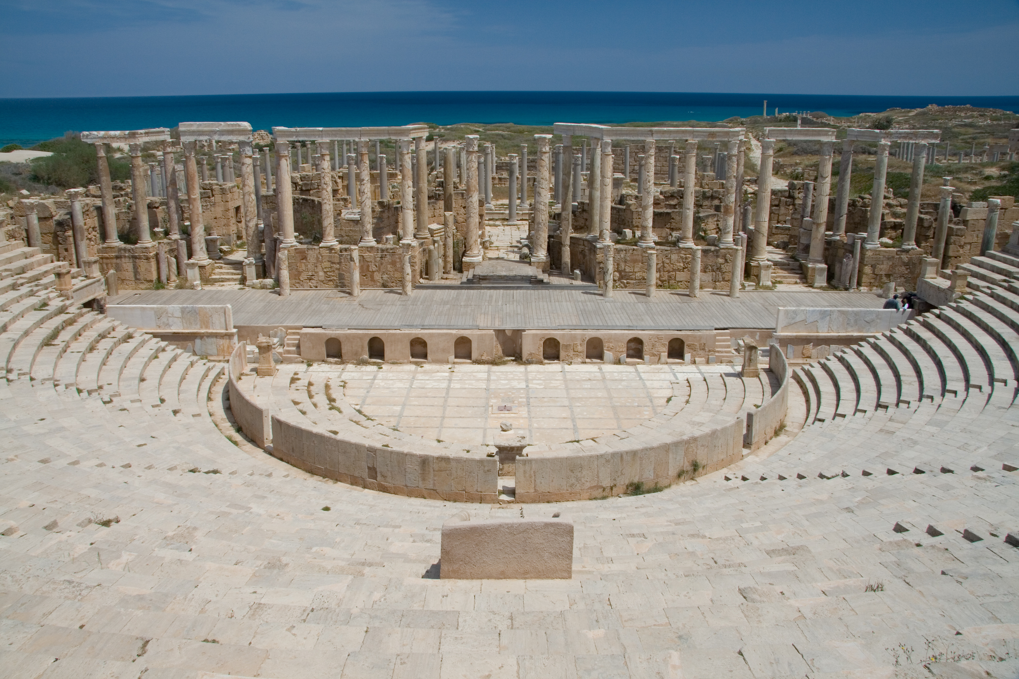 Tripoli Libya Leptis Magna