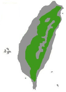Lophura swinhoii range map.jpg