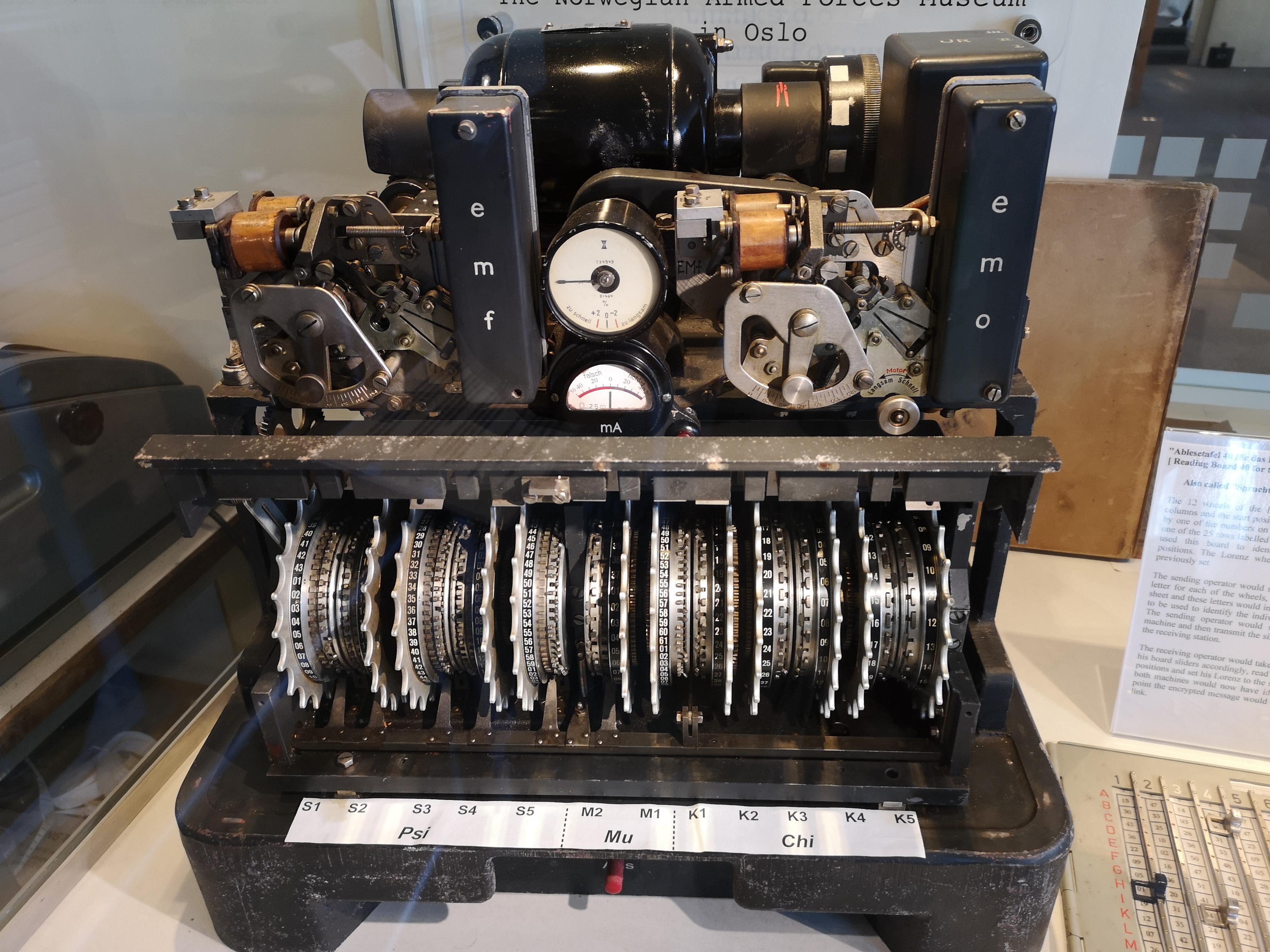 Cryptanalysis of the Lorenz cipher - Wikipedia