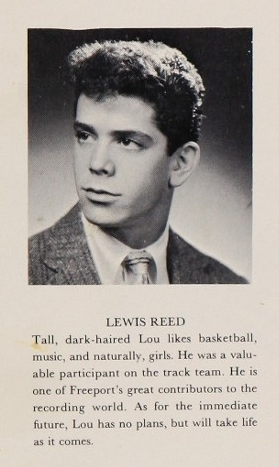 Lou Reed HS Yearbook