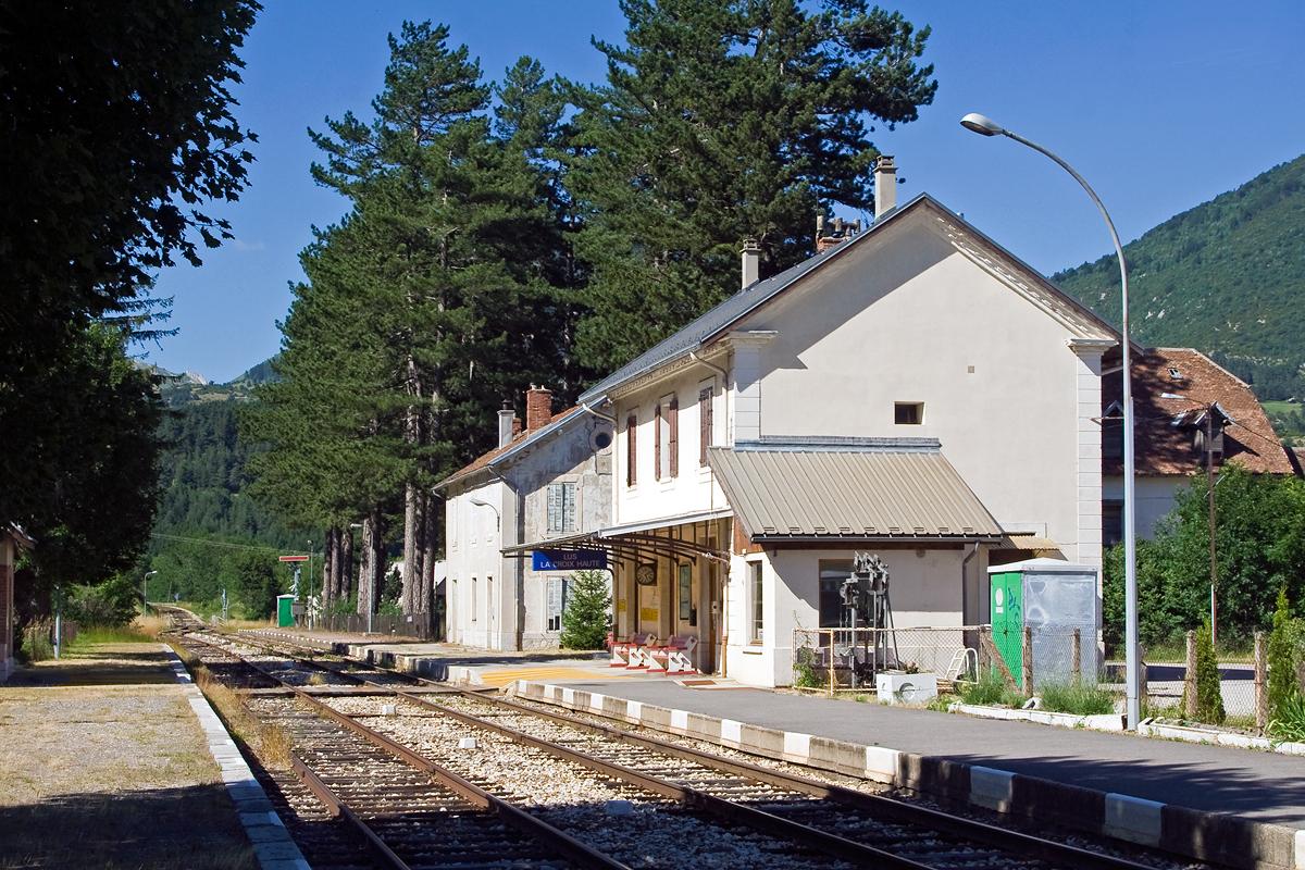 Gare De Lus La Croix Haute Wikip 233 Dia
