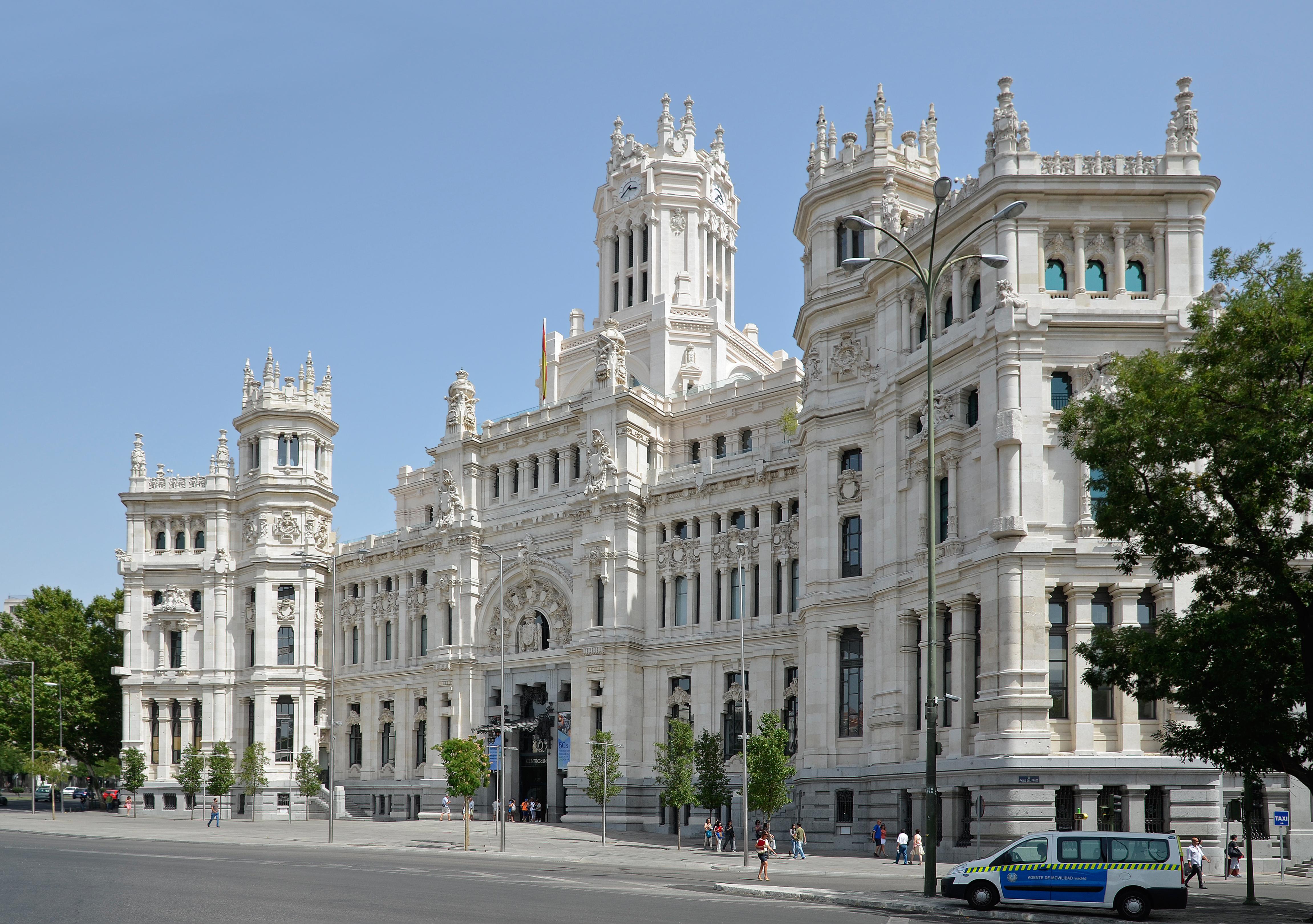 File Madrid Palacio De Comunicaciones 01 Jpg Wikimedia