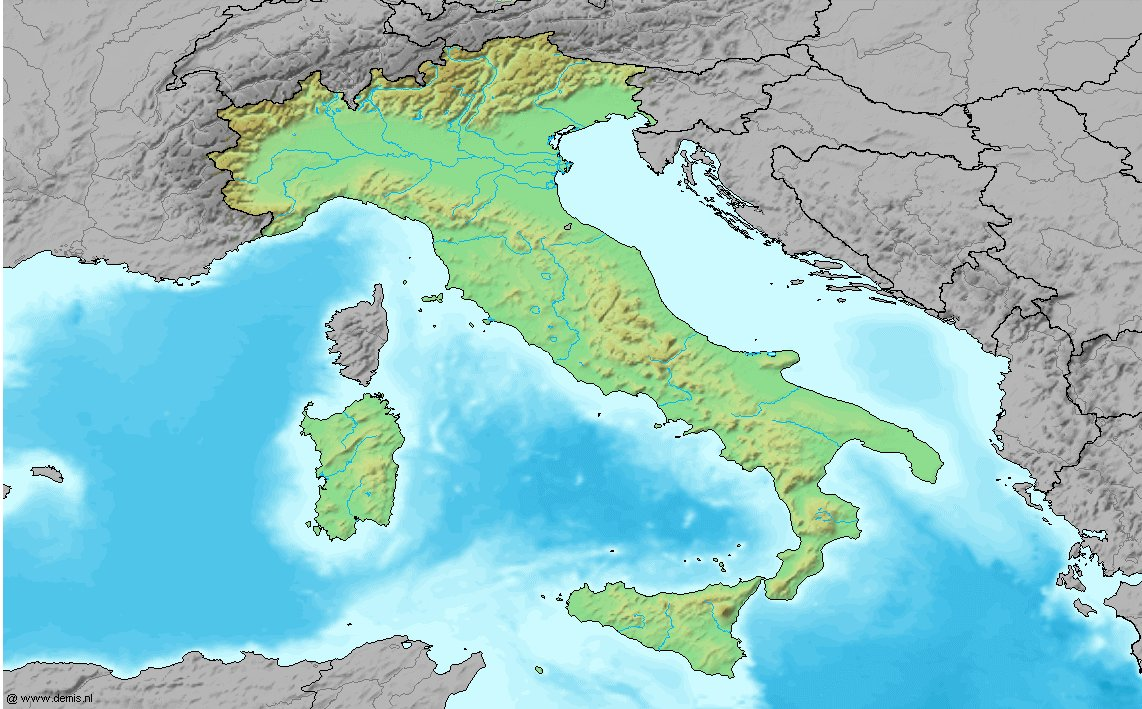 File Map Of Italy W O Labels Jpg Wikimedia Commons