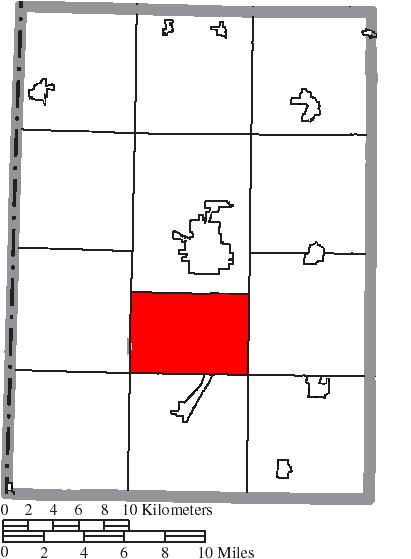File Map Of Preble County Ohio Highlighting Gasper Township