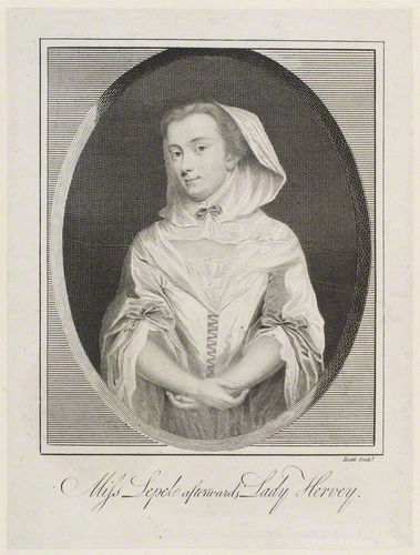 Engraving of Mary Leppell by James Heath, 1748