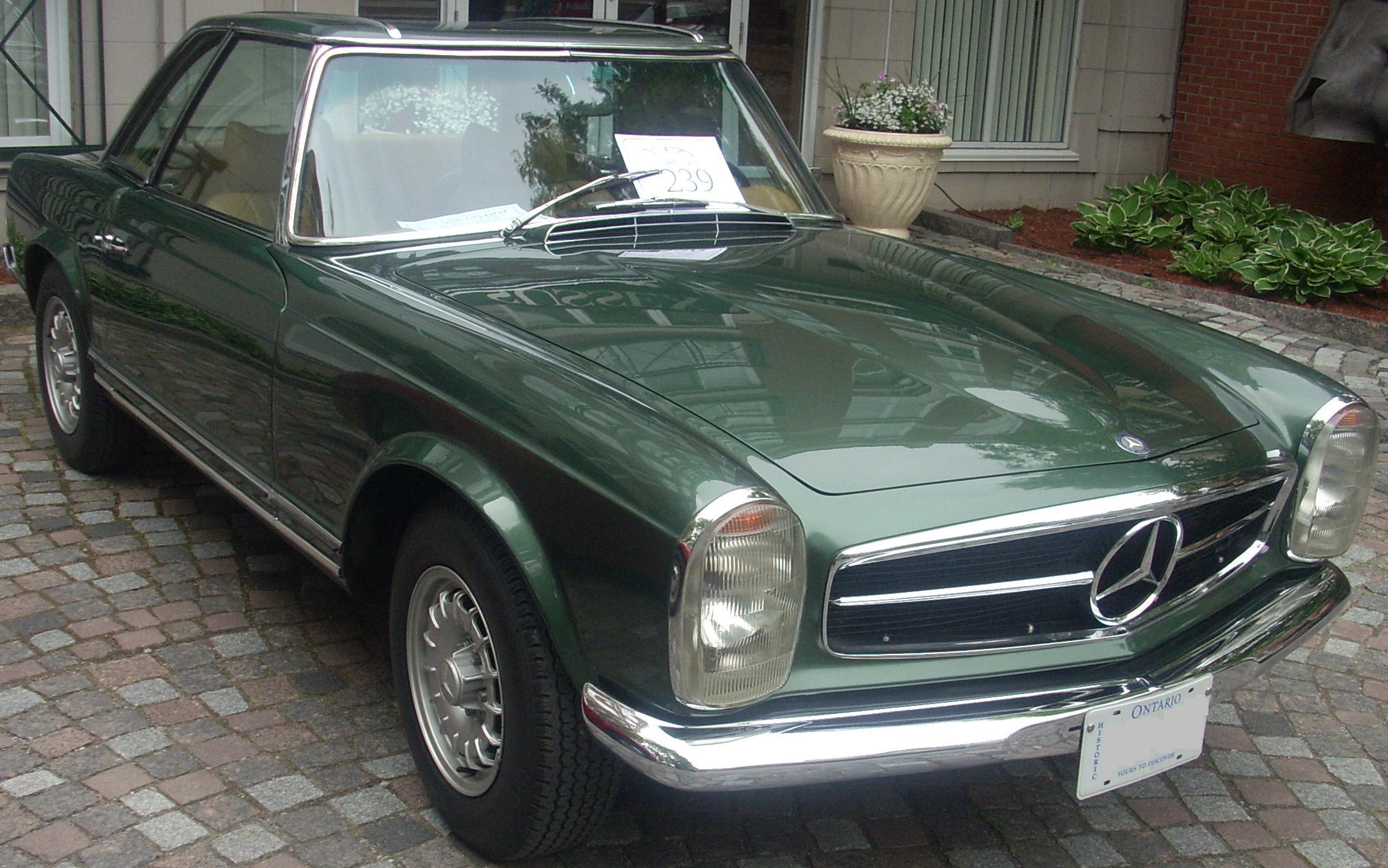 File:Mercedes-Benz W113 SL-Class (Byward Auto Classic).jpg - Wikimedia ...