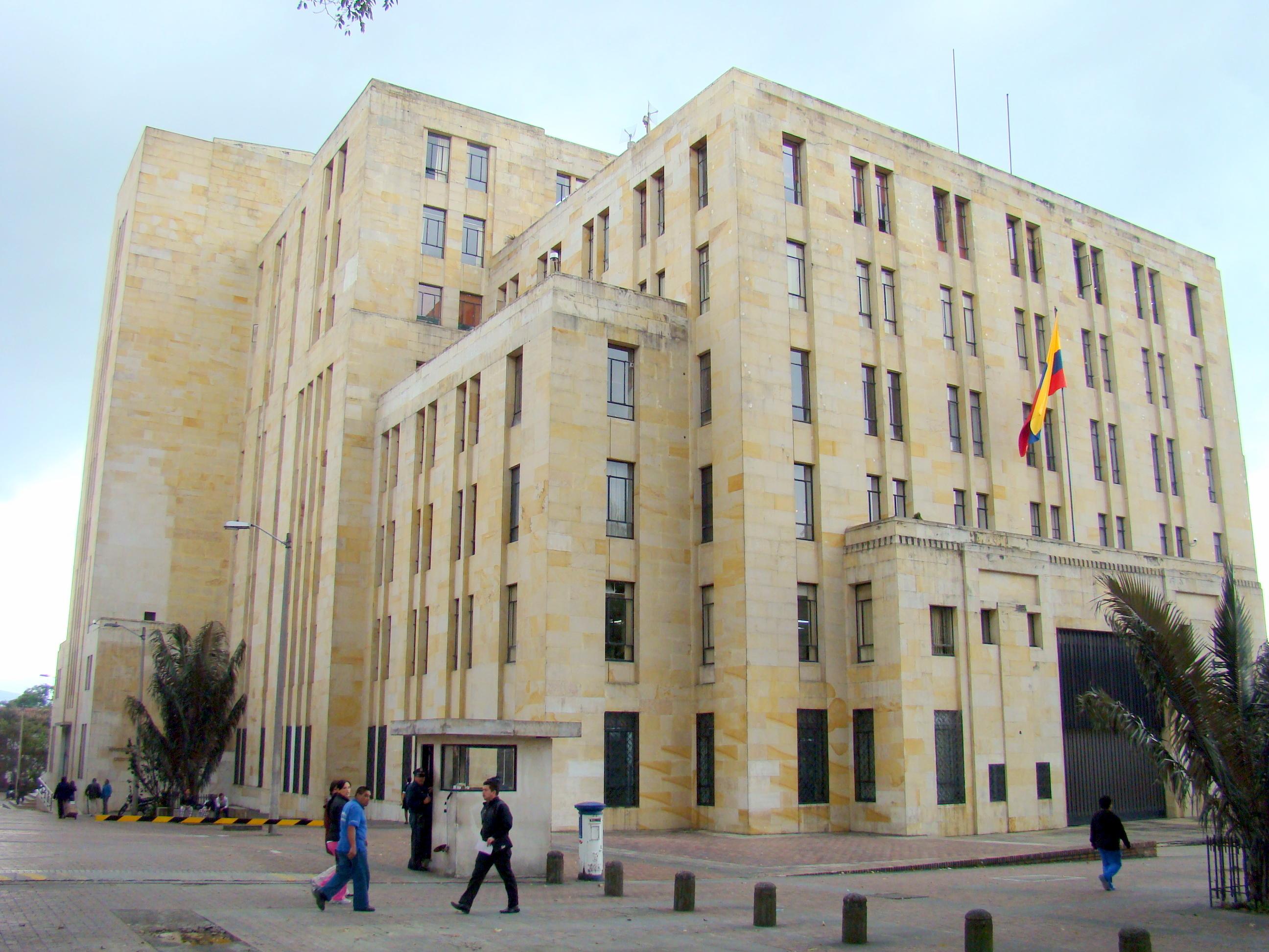 File ministry of finance and public credit colombia jpg for Ministerio del interior chile direccion