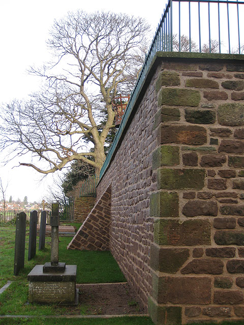 File Newly Repaired Prospect Wall With Buttress