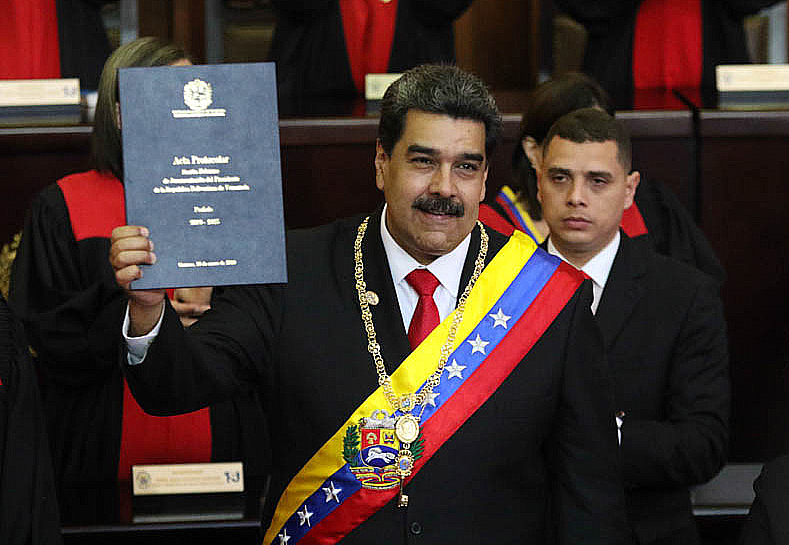 Nicolás Maduro 2019 Inauguration.jpg