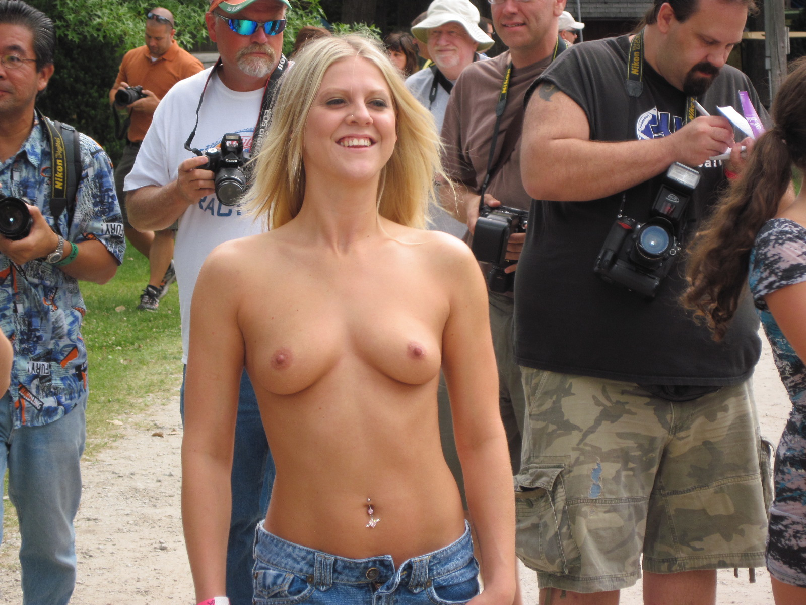 Hot!! Mike's ceder creek nudist resort Damn, she