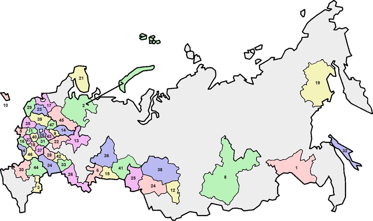 Where is Ryazan 45