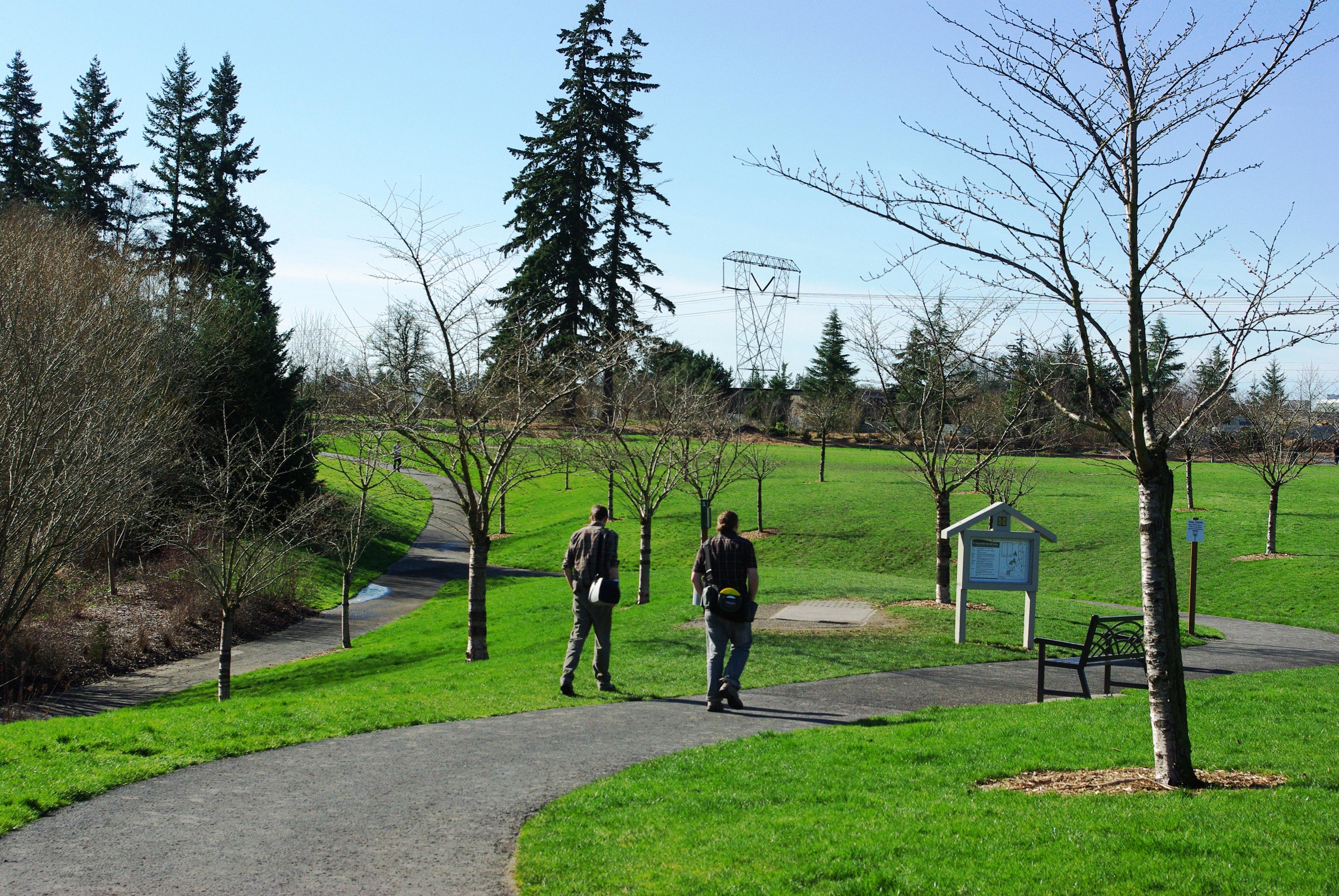 File Orchard Park Disc Golfers Hillsboro Oregon Jpg