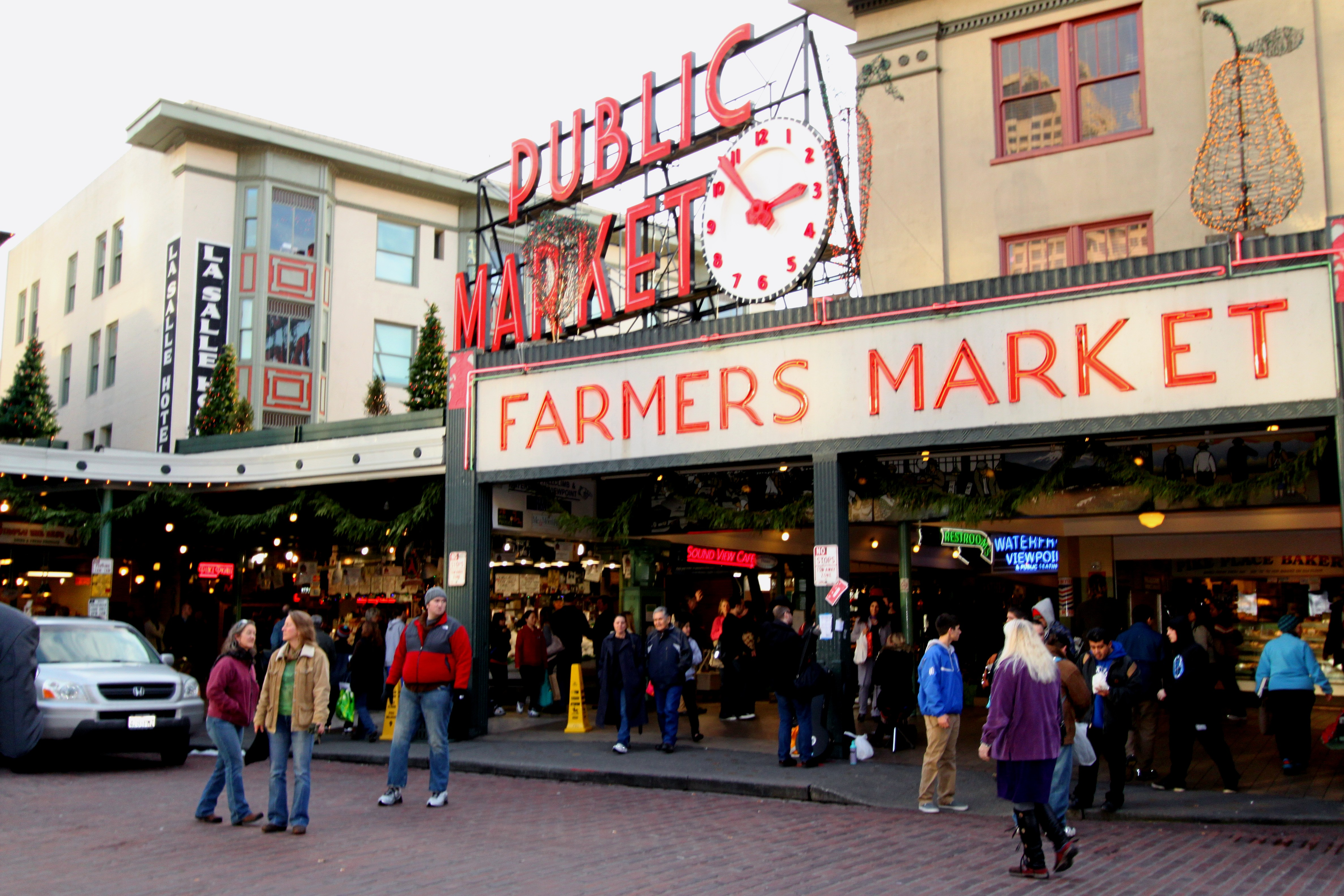 Pike Place Market Apartments Seattle