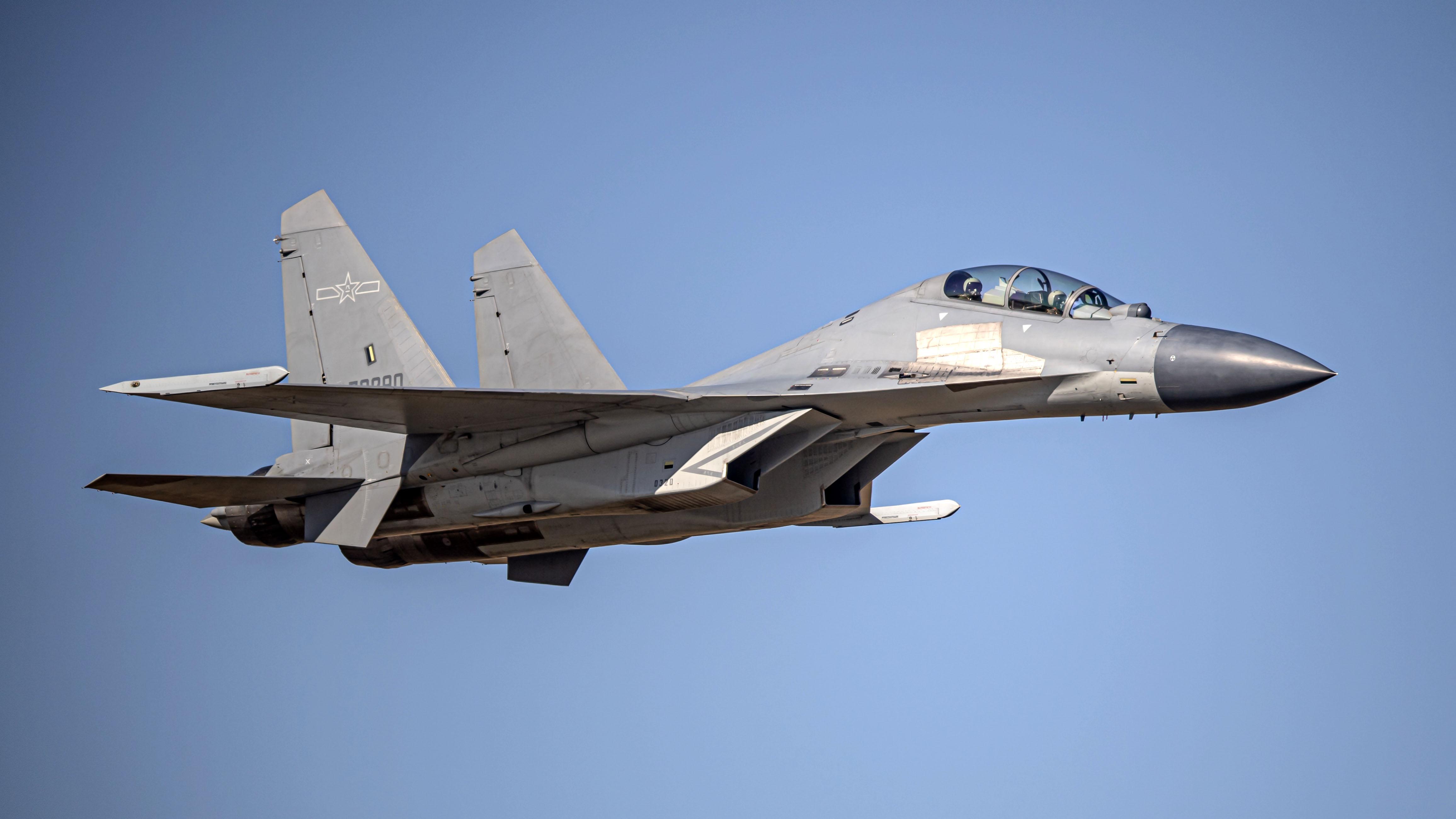 J-16 fighter jet