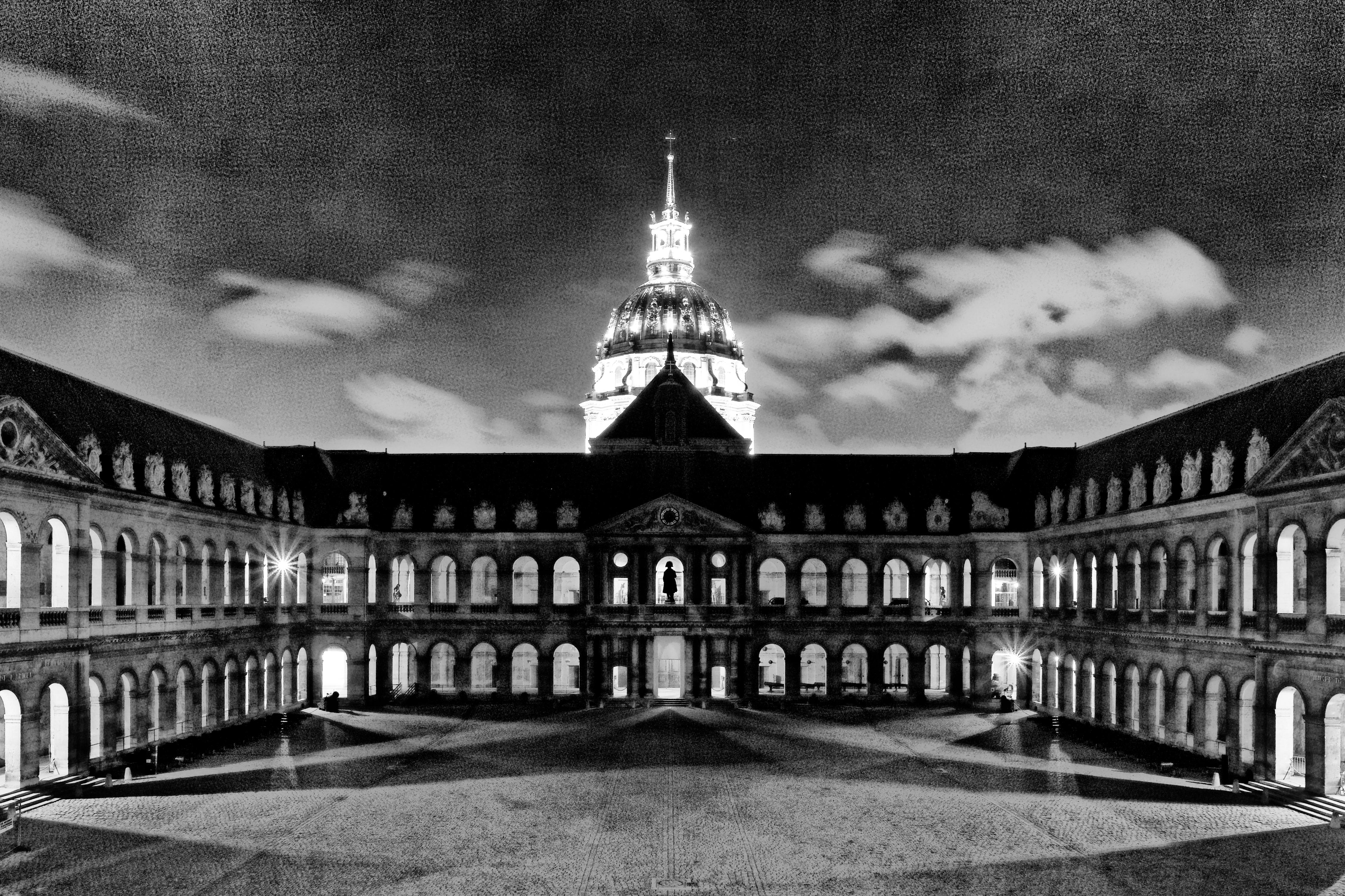 Extrêmement File:Paris - Les Invalides - Noir et blanc - PA00088714 - 0002.jpg  XF98
