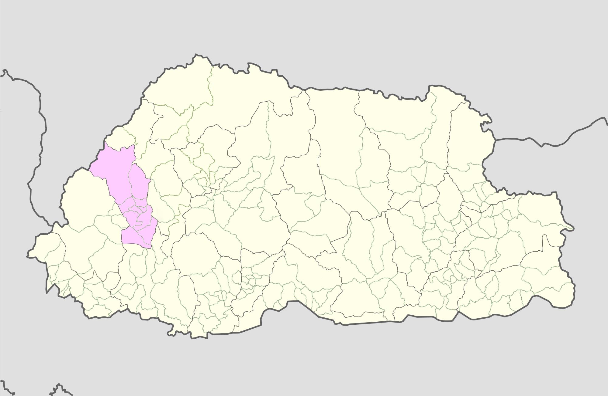 Bhutan Maps Location Map Paro Bhutan