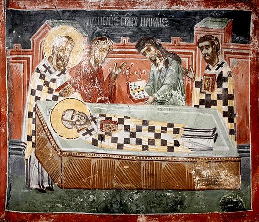Αρχείο: Πατριαρχείο Πετ, παρεκκλήσι Αγίου Νικολάου - 11 Ο θάνατος του Νικόλα