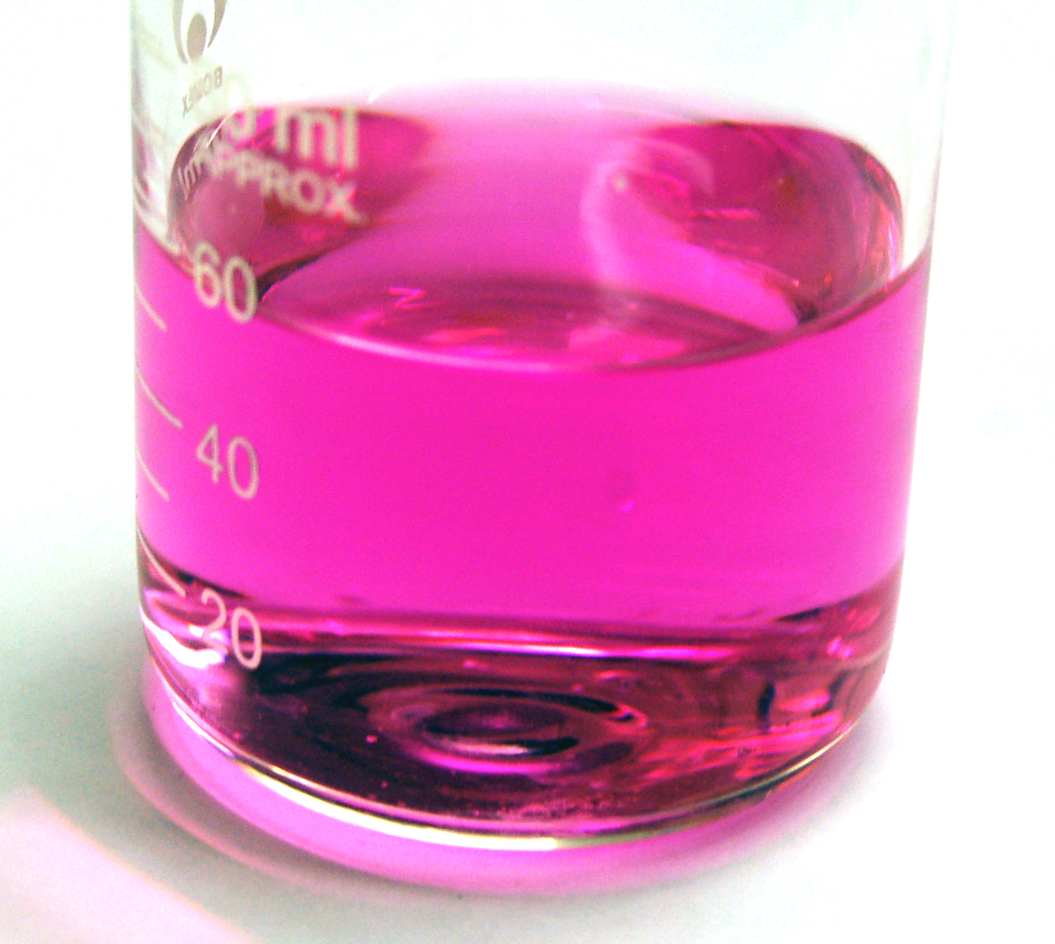 File phenolphthalein at ph wikimedia commons - Colores para la concentracion ...
