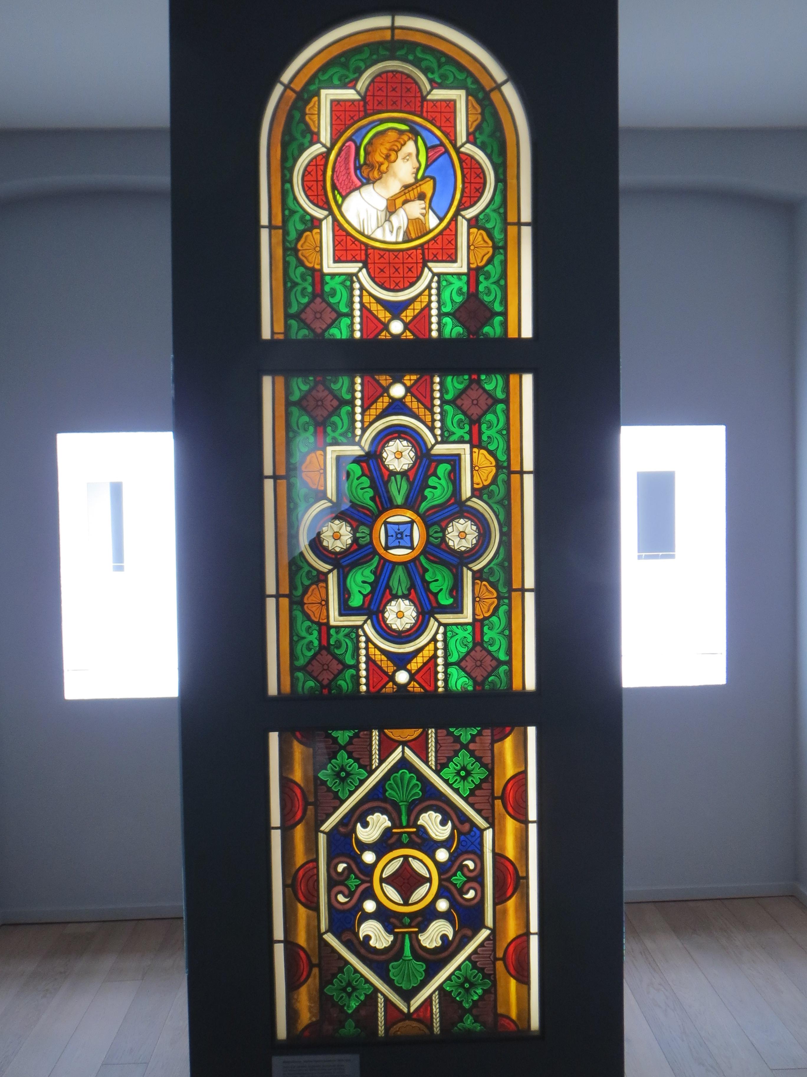 Glasfenster Milde